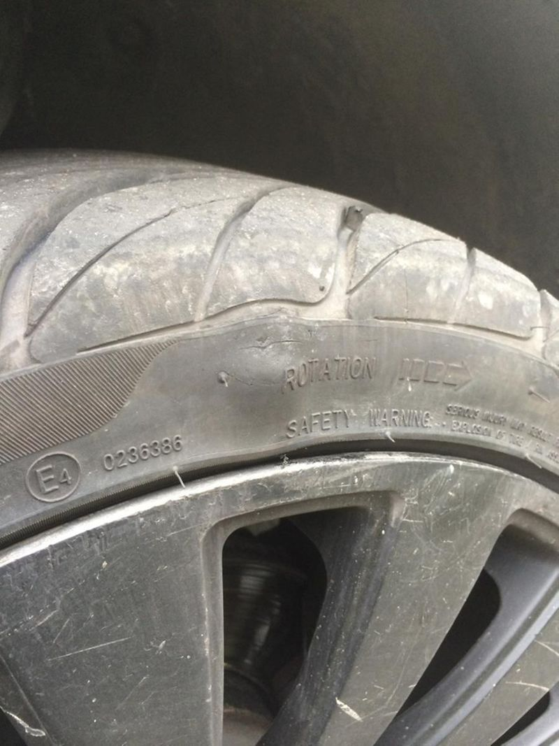 Sidewall Damage