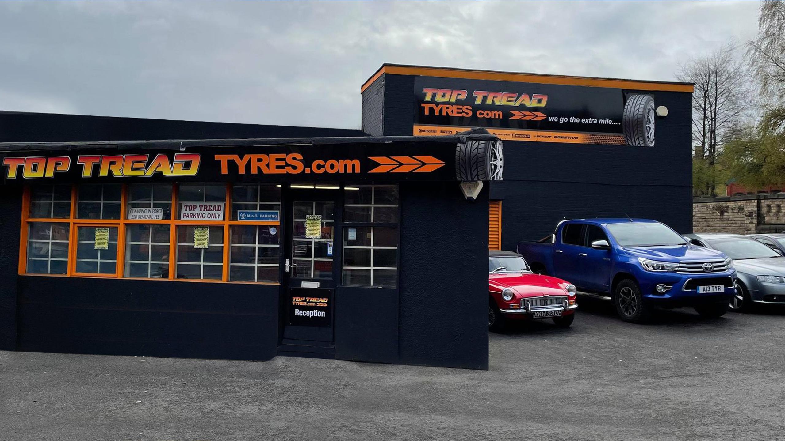 top tread tyres sheffield